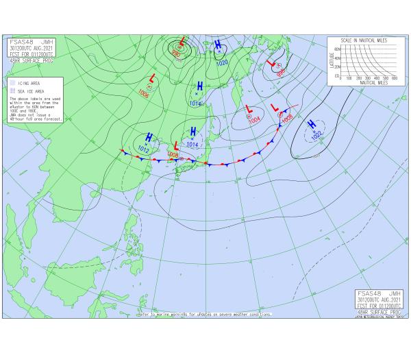 20210901-21 JST surface forecast.png