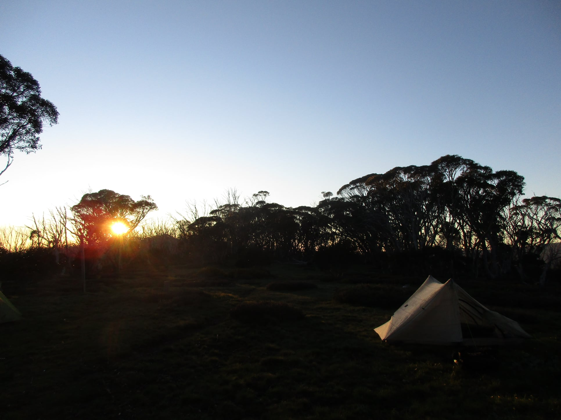 day 2   sunrise at  Cleve  Cole  hut.jpg
