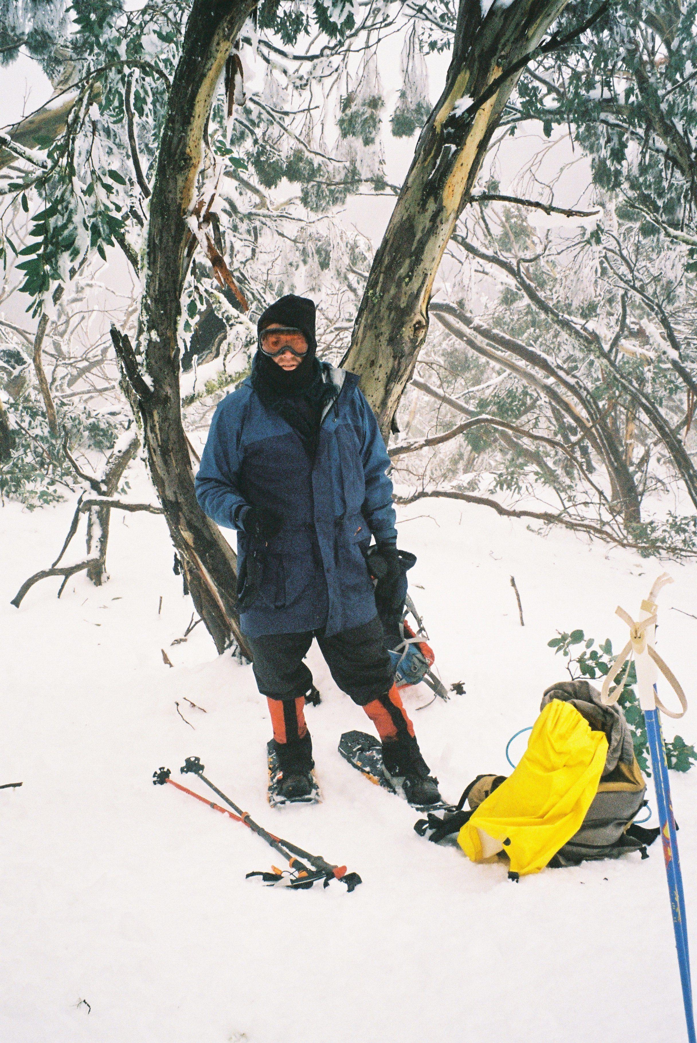 Mr.T. Near the top of Mt. Torbreck.jpg