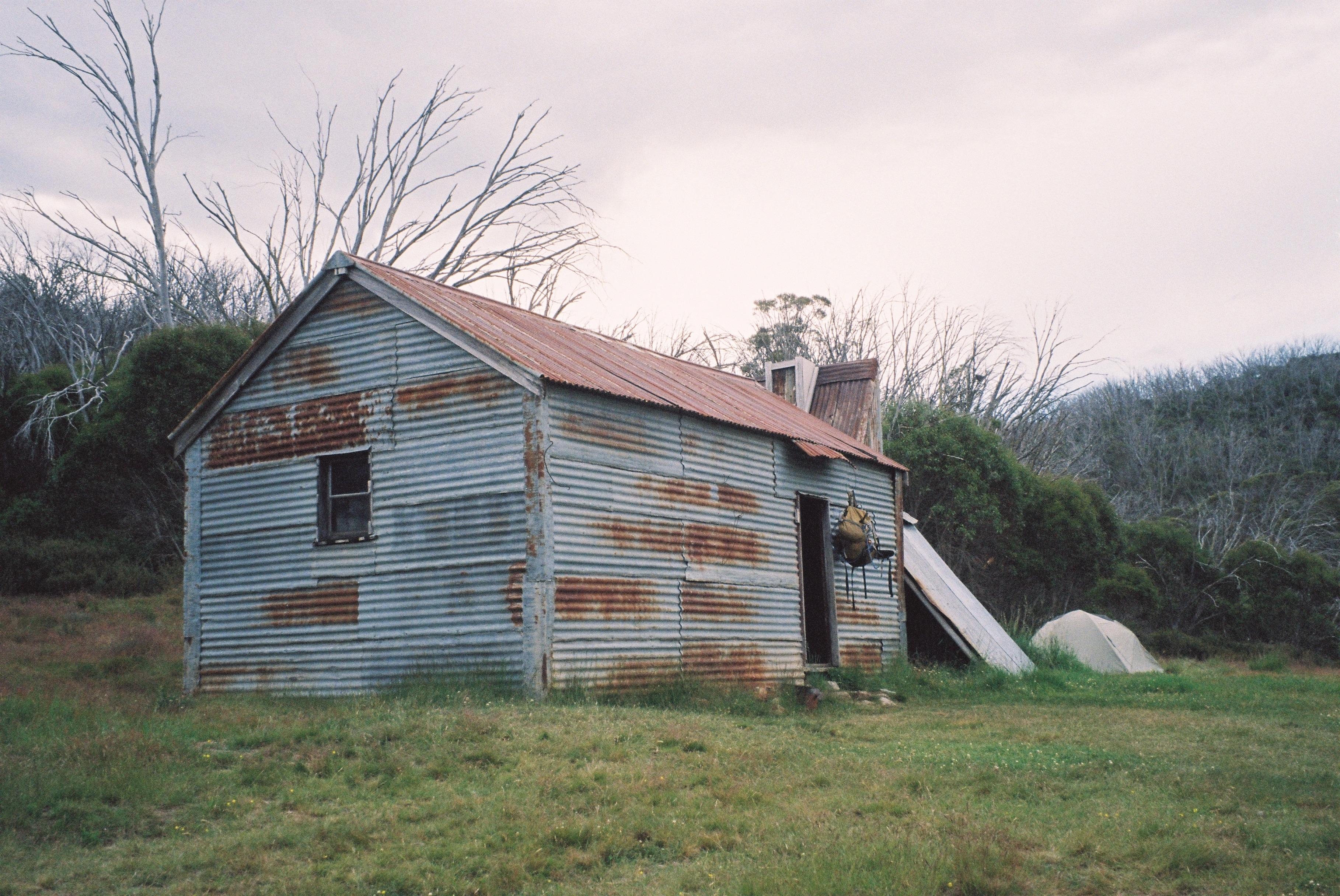 Round mtn. hut.First  night camp site..jpg