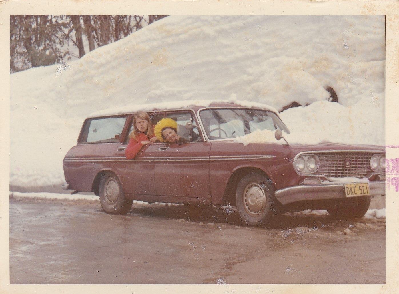 Snowdrift and fresh snow - Xmas day 1969.jpg