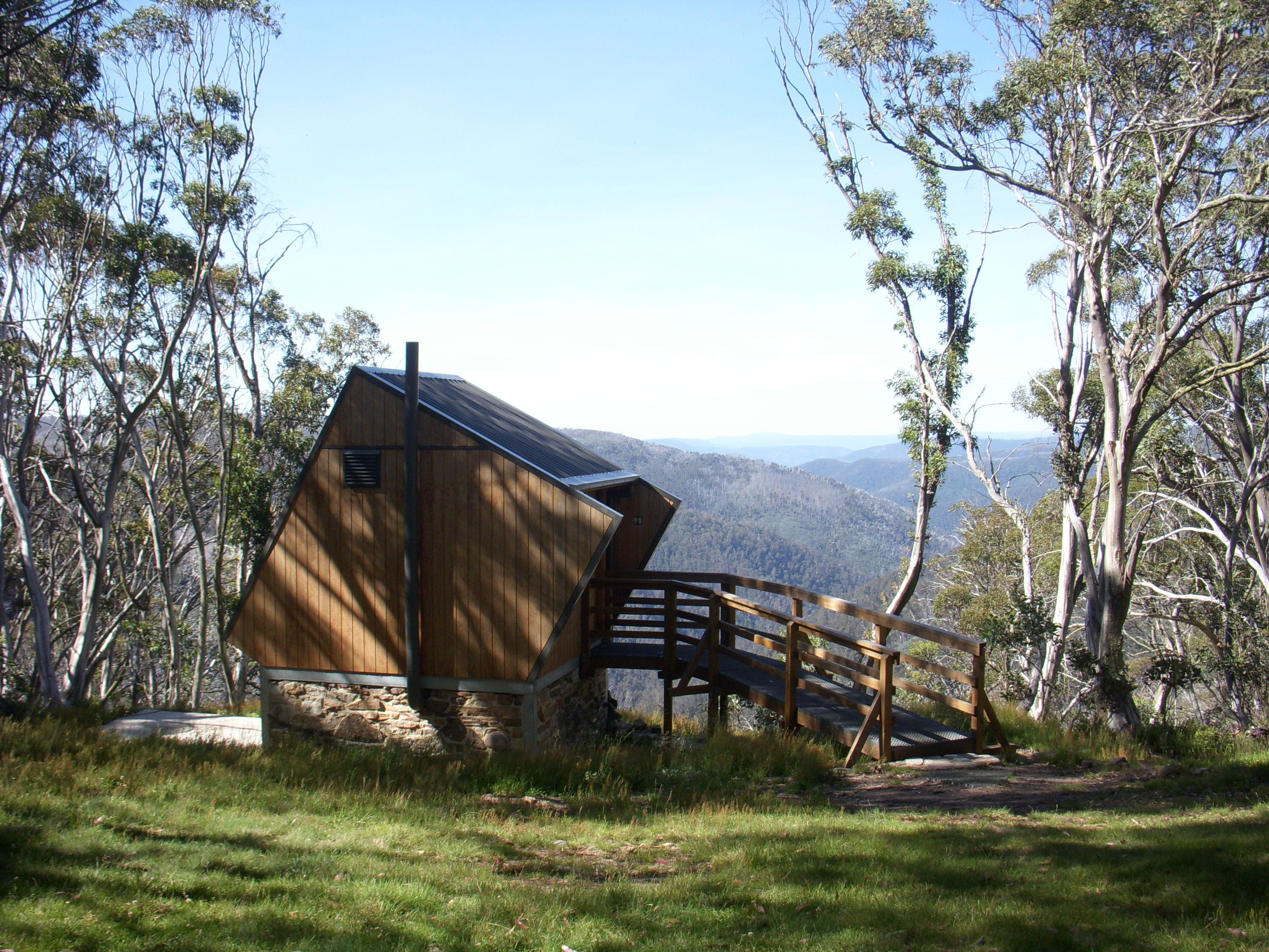 the loo with a  view.macAlister  springs.1600 M.  Jan. 2015..JPG