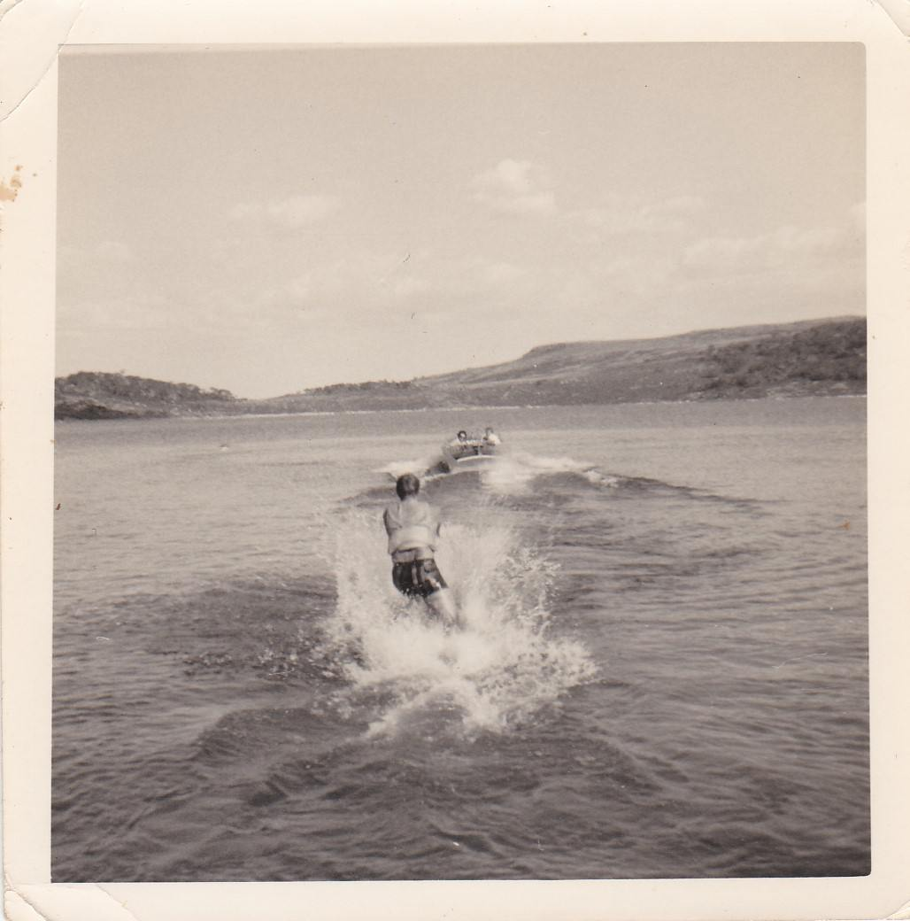 Water skiing on Rocky Valley dam - late 60's.jpg